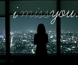 girl, miss, and i miss you image