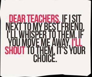 teacher, quote, and best friends image