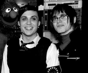 frank iero, mikey way, and my chemical romance image