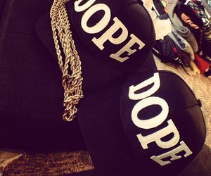 dope, fashion, and cap image