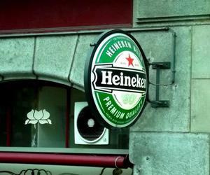 beer, heineken, and street image