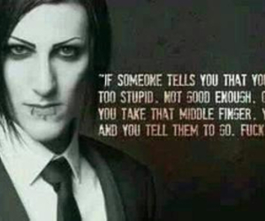 chris motionless, quote, and motionless in white image