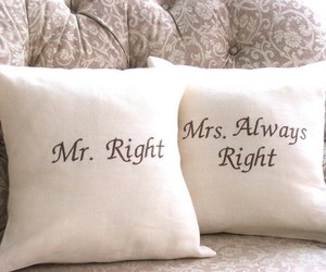 cushion, pillow, and mr. right image