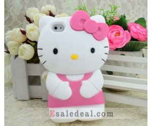 hello kitty, iphone 4g, and iphone 4s image