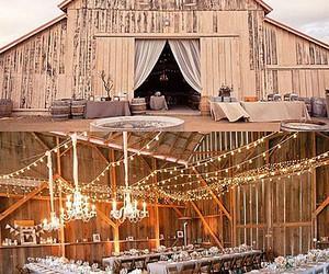 lights, pretty, and wedding image