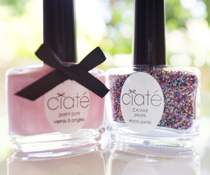 caviar nails and ciaté caviar manicure image
