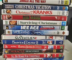 christmas, dvd, and dvds image