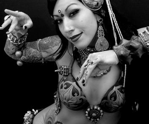 belly dance, belly dancer, and bellydance image