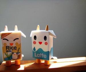 cute, milk, and kawaii image
