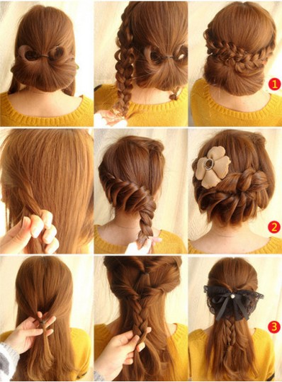 How To Create Braided Hair On We Heart It - Hairstyle diy tumblr