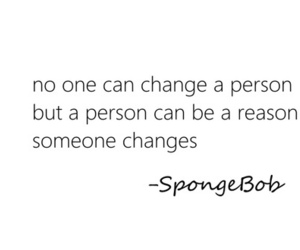 quote, spongebob, and change image
