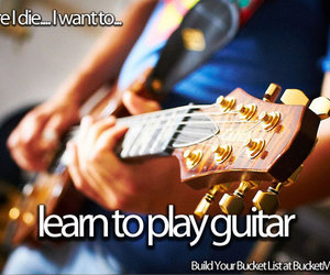 concert, guitar, and music image