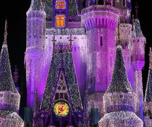 blue, tinkerbell, and castle image