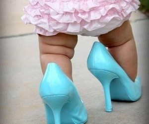 baby, cute, and heels image