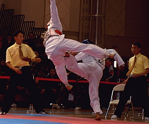 ouch, sport, and taekwondo image