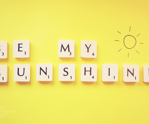 sunshine, sun, and text image