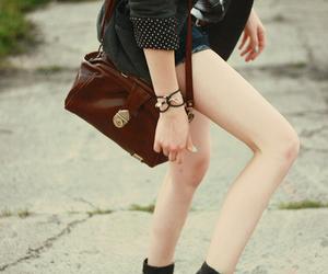 fashion, girl, and purse image