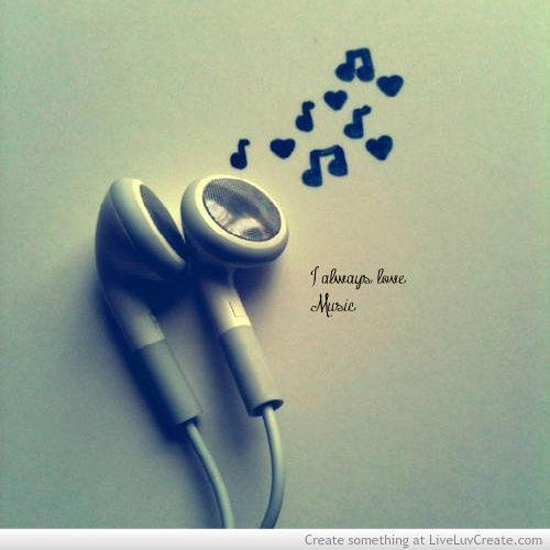 Words Quotes Sayings I Always Love Music