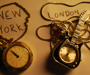 london and new york image