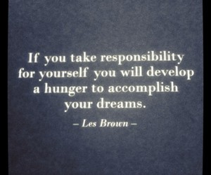 quotes, words, and les brown image
