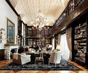 luxury, architecture, and books image
