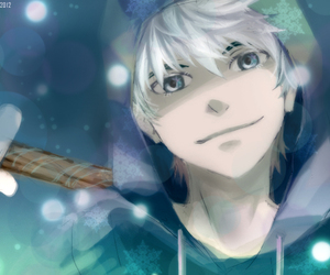 jack frost, anime, and rise of the guardians image