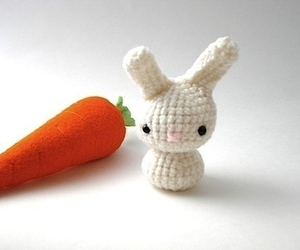 bunny and carrot image