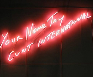 neon, tracey emin, and sign image