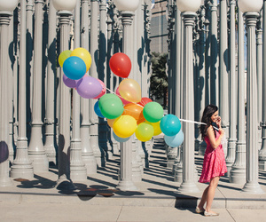 balloons, california, and colorful image