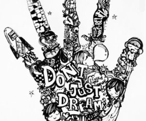 Dream and drawing image