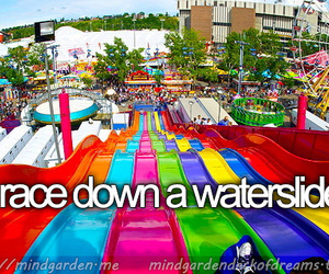 waterslide, race, and Dream image