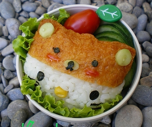 bento, food, and hello kitty image