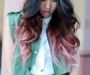 awesome, girl, and hair style image