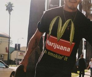 marijuana, boy, and t-shirt image