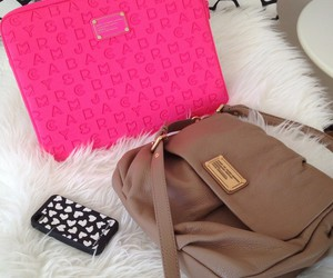 marc jacobs, pink, and bag image