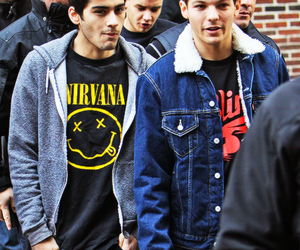 louis, zayn, and onedirection image