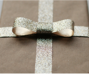 gift, present, and bow image