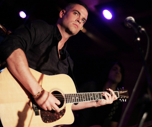 glee, guitar, and guy image