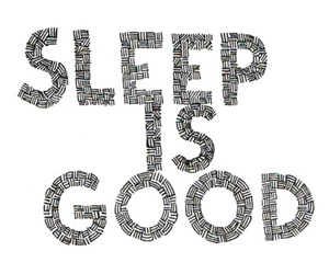 sleep, good, and text image