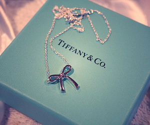 bow, tiffany, and necklace image
