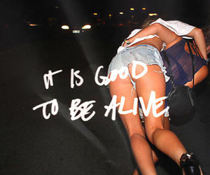 alive, text, and party image