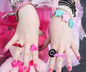 kawaii, pastel, and rings image