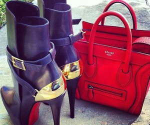 bag, celine, and shoes image
