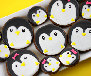 penguin, cute, and Cookies image