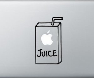 apple, box, and decal image
