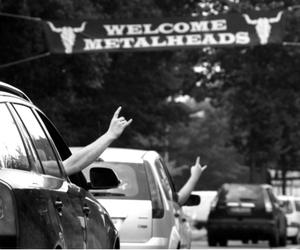 metalhead, metal, and welcome image