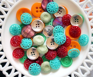 button, color, and red image