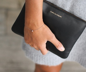 fashion, bag, and bracelet image
