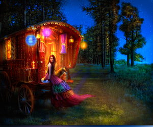 gypsy and light image