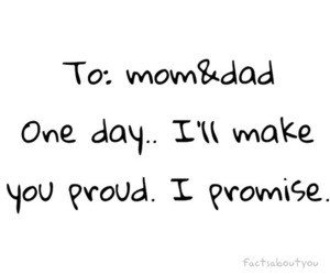 dad, mom, and promise image
